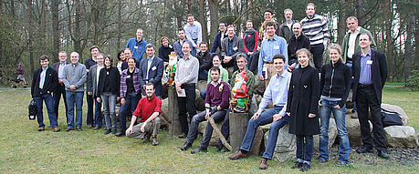 group picture of the iclea climate scientists